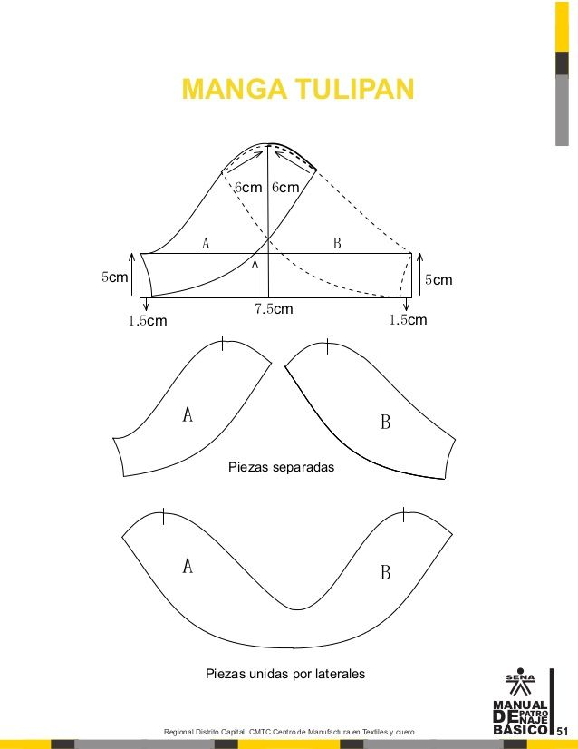 Manual de patronaje CMT - SENA | Lizett | Pinterest | Sewing, Blouse ...