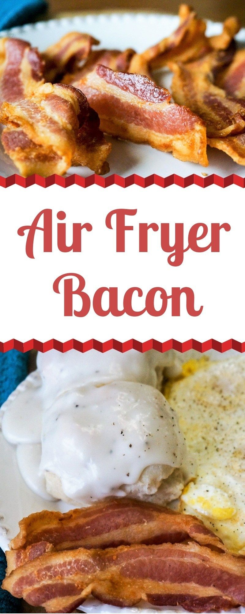 It's so easy to make Crispy Bacon in the Air Fryer. It only takes 10-15 minute to get even thick ba