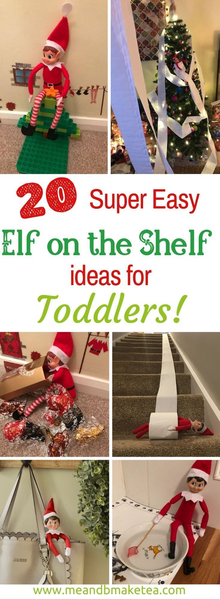 20 Easy Elf on the Shelf Ideas for Toddler