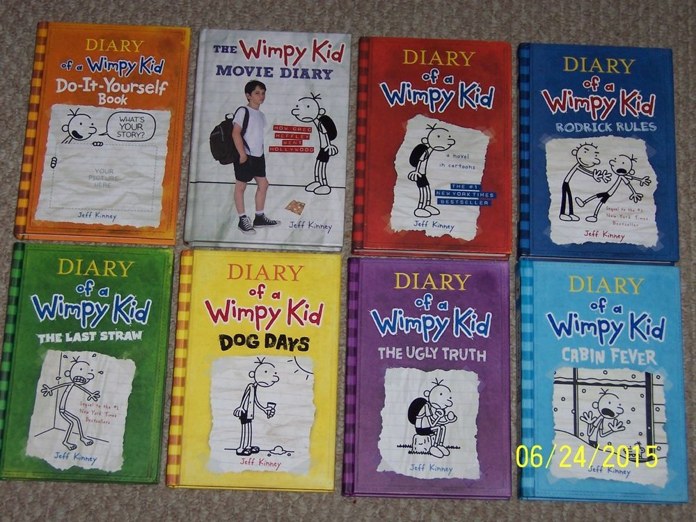 8 diary of a wimpy kid bookskinney1 2 3 4 5 6 do it yourself diary of a wimpy kid do it yourself book by jeff kinney hardcover solutioingenieria Image collections