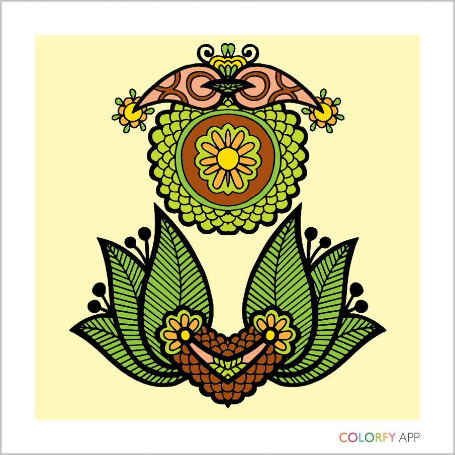Magnificent Design Coloring Pages For Adults Image - Coloring Page ...