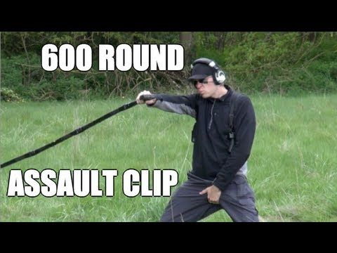 AK 47 600 Round Gangsta Assault Clip