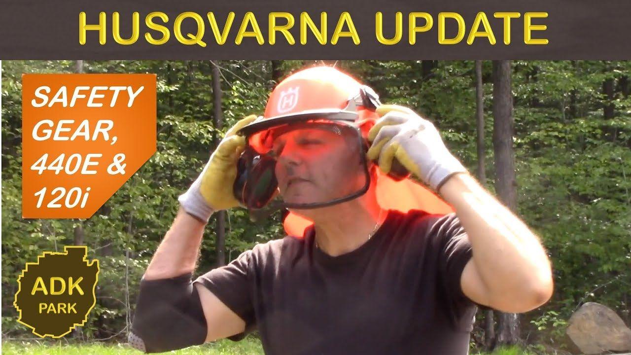 Husqvarna update chainsaws safety gear earth