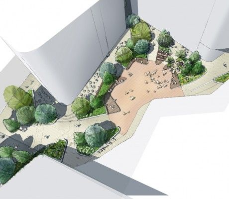 Greenwich square outerspace uk lead landscape for Outerspace landscape architects