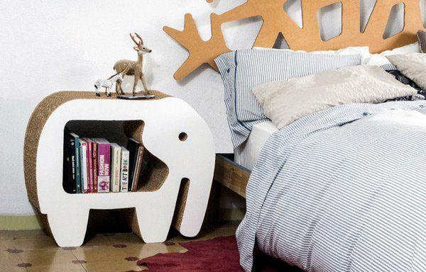 Ideas Divertidas para Decorar con Muebles de Cartón | Muebles de ...