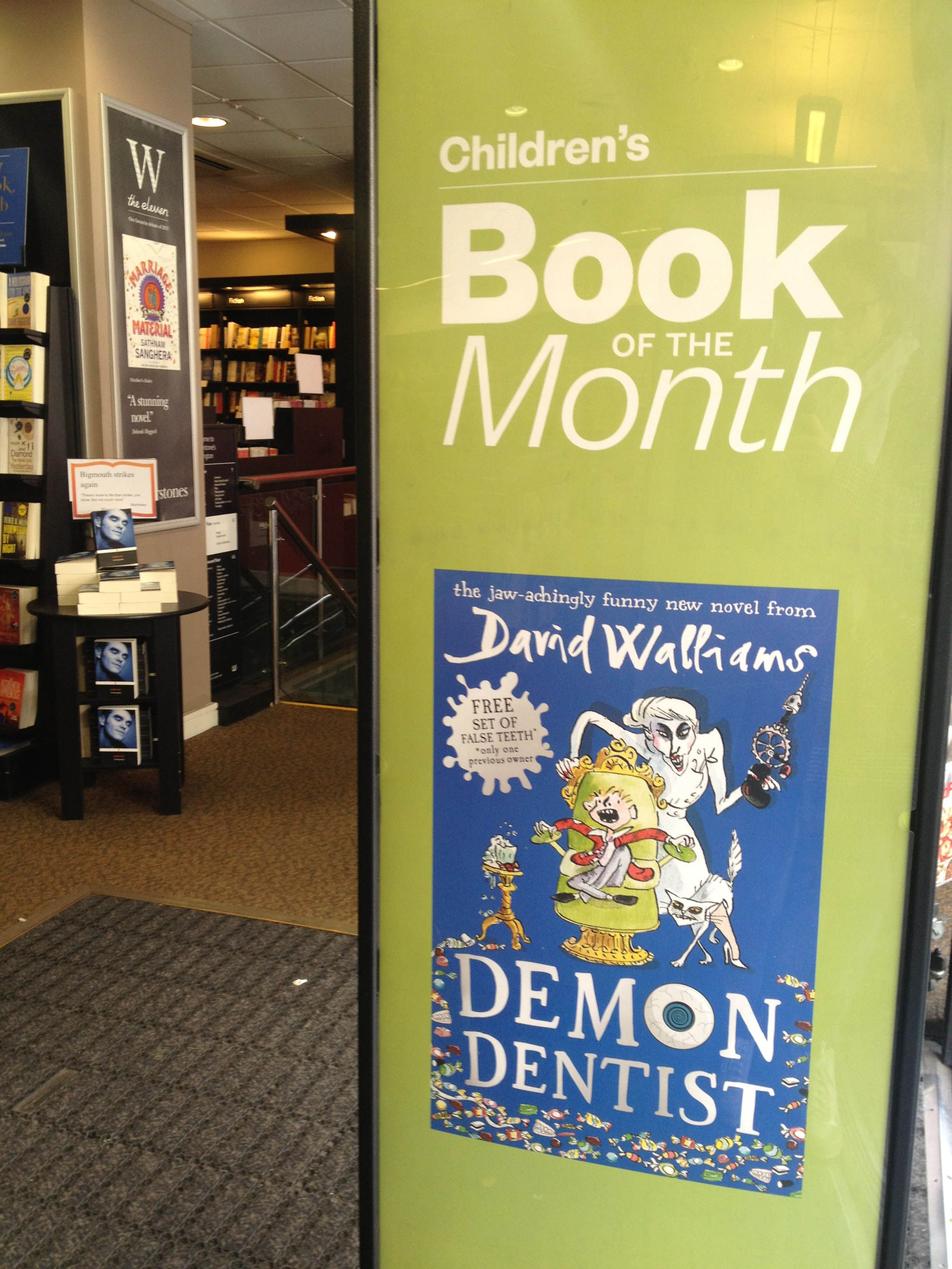 Reviews children s book review demon dentist david walliams - Demon Dentist By David Walliams Children S Book Of The Month At Waterstones