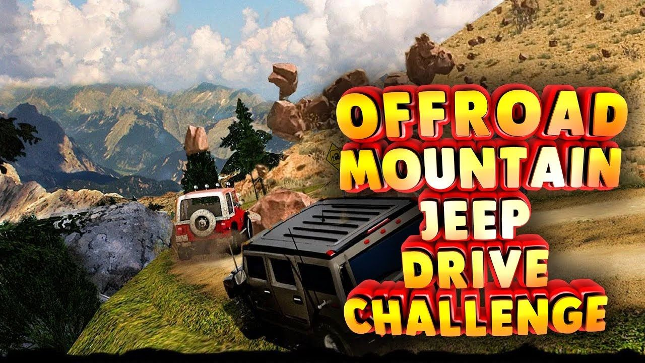 Offroad Mountain Jeep Drive Challenge 4x4 Suv Driving Simulator