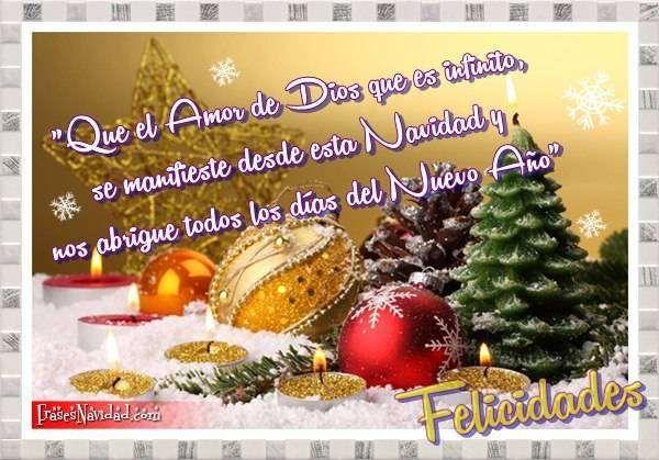 Frases bonitas para facebook imagenes con mensajes de - Postales navidenas bonitas ...