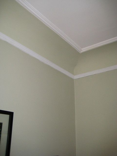 Painting coved ceiling and walls google search coved for Coving for bathroom ceilings
