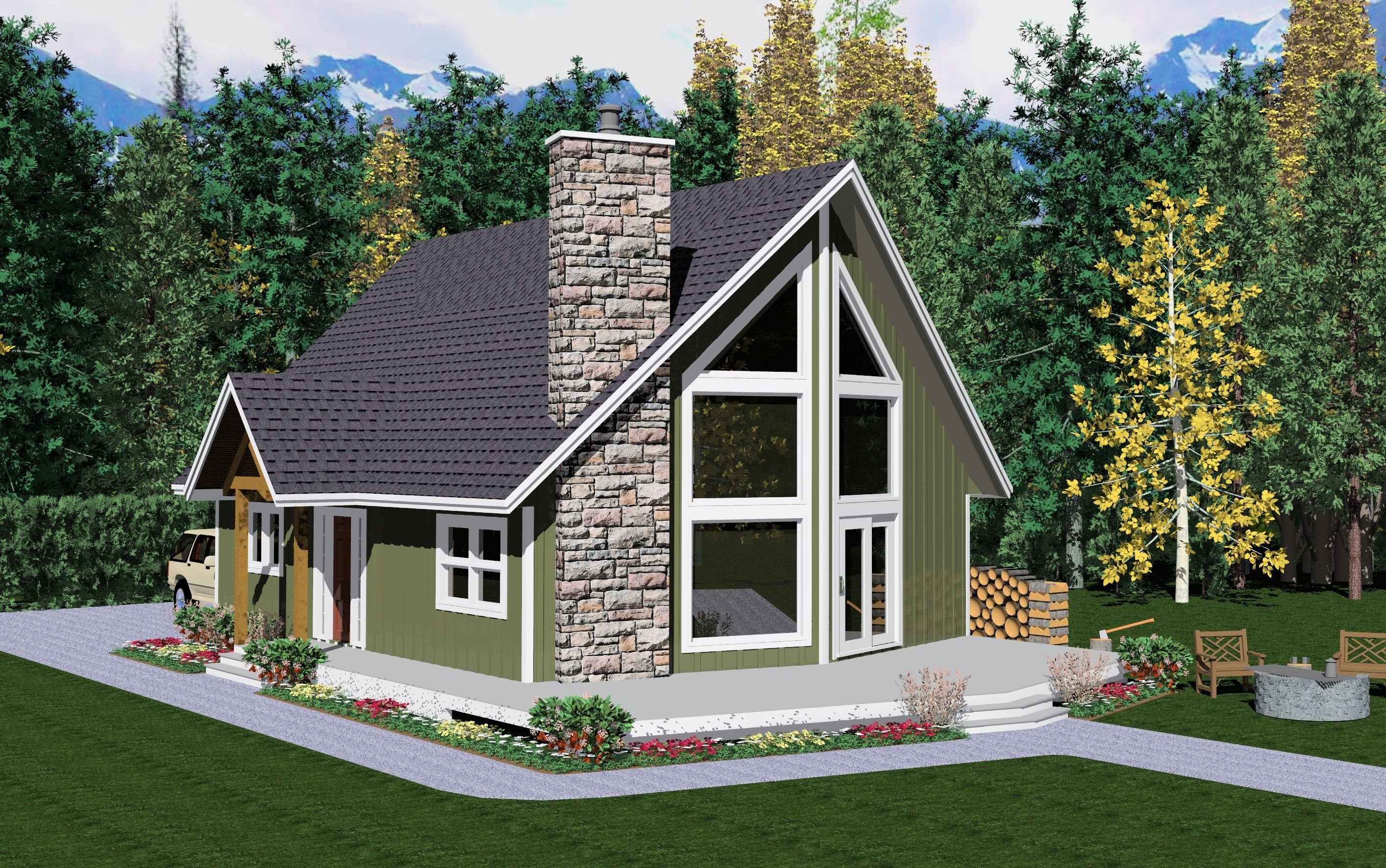 The McKenzie River - Prefabricated Home Plans   Winton Homes   This is what I want