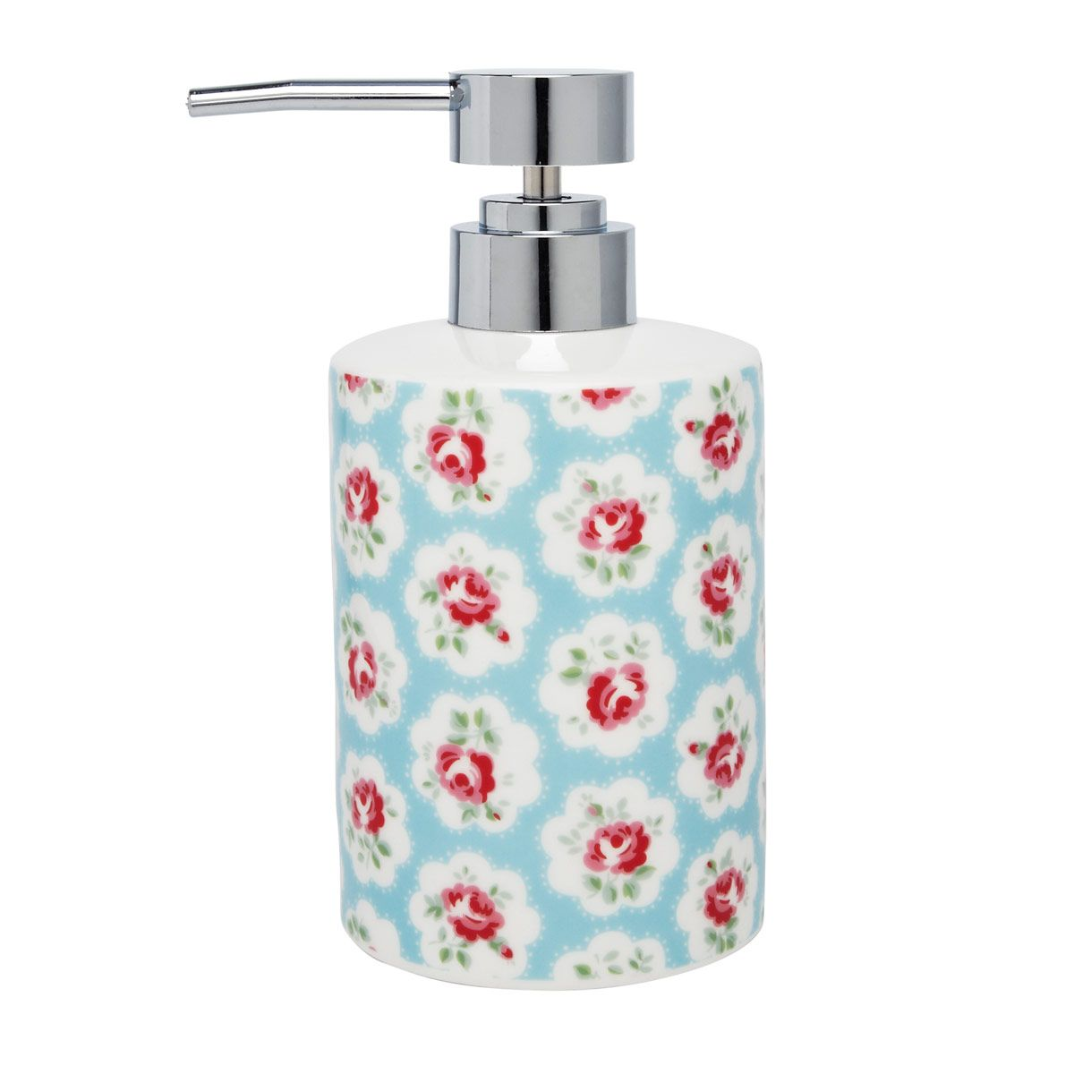 Provence Rose Ceramic Soap Dispenser | Bathroom | CathKidston ...
