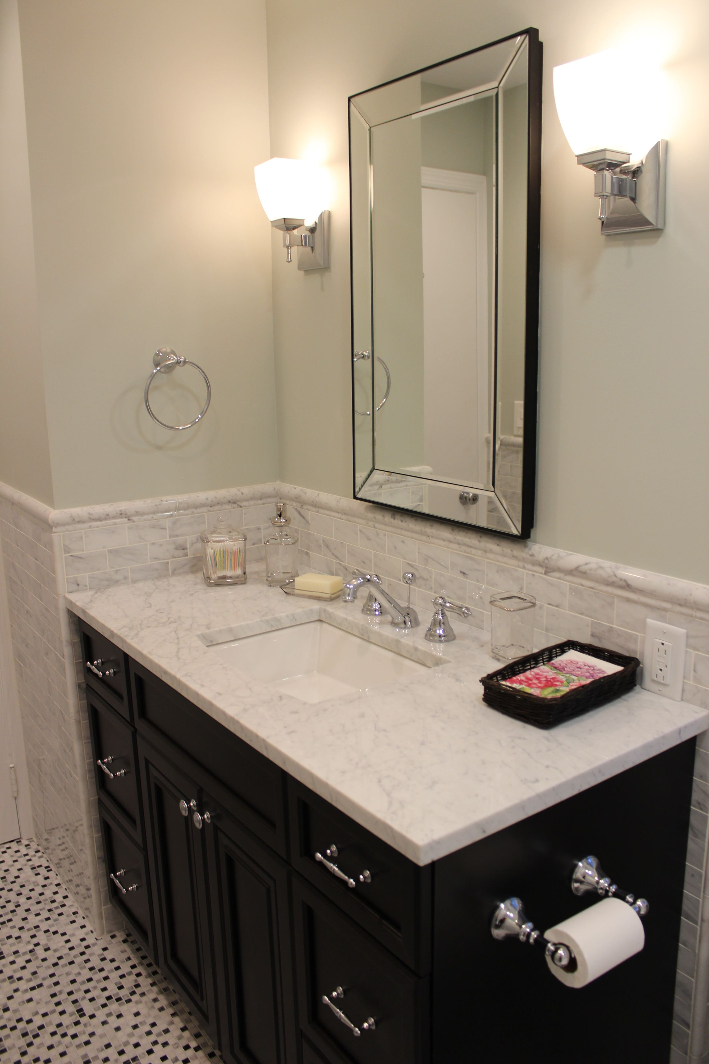 Take a look at this bathroom project that was recently ...
