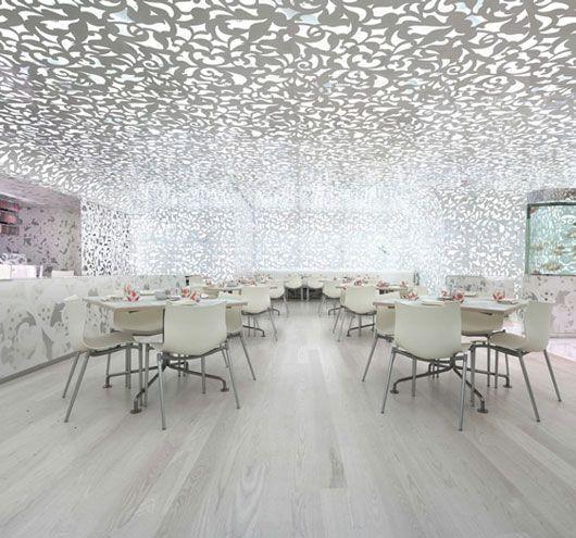 Beijing zen interior restaurant design for abu