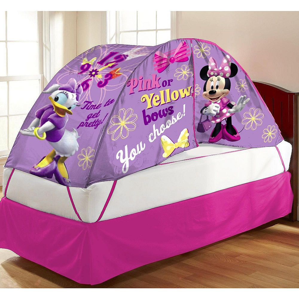 Disney Minnie Mouse Bed Tent with Pushlight & Disney Minnie Mouse Bed Tent with Pushlight | Minnie mouse bedding