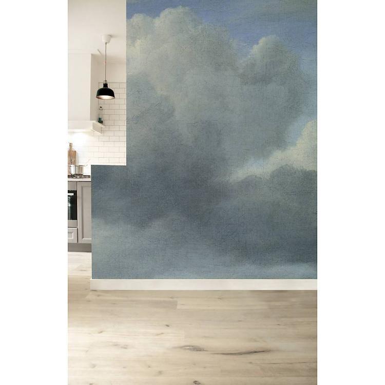 KEK Amsterdam Foto Tapete Golden Age Clouds III - Orangehaus