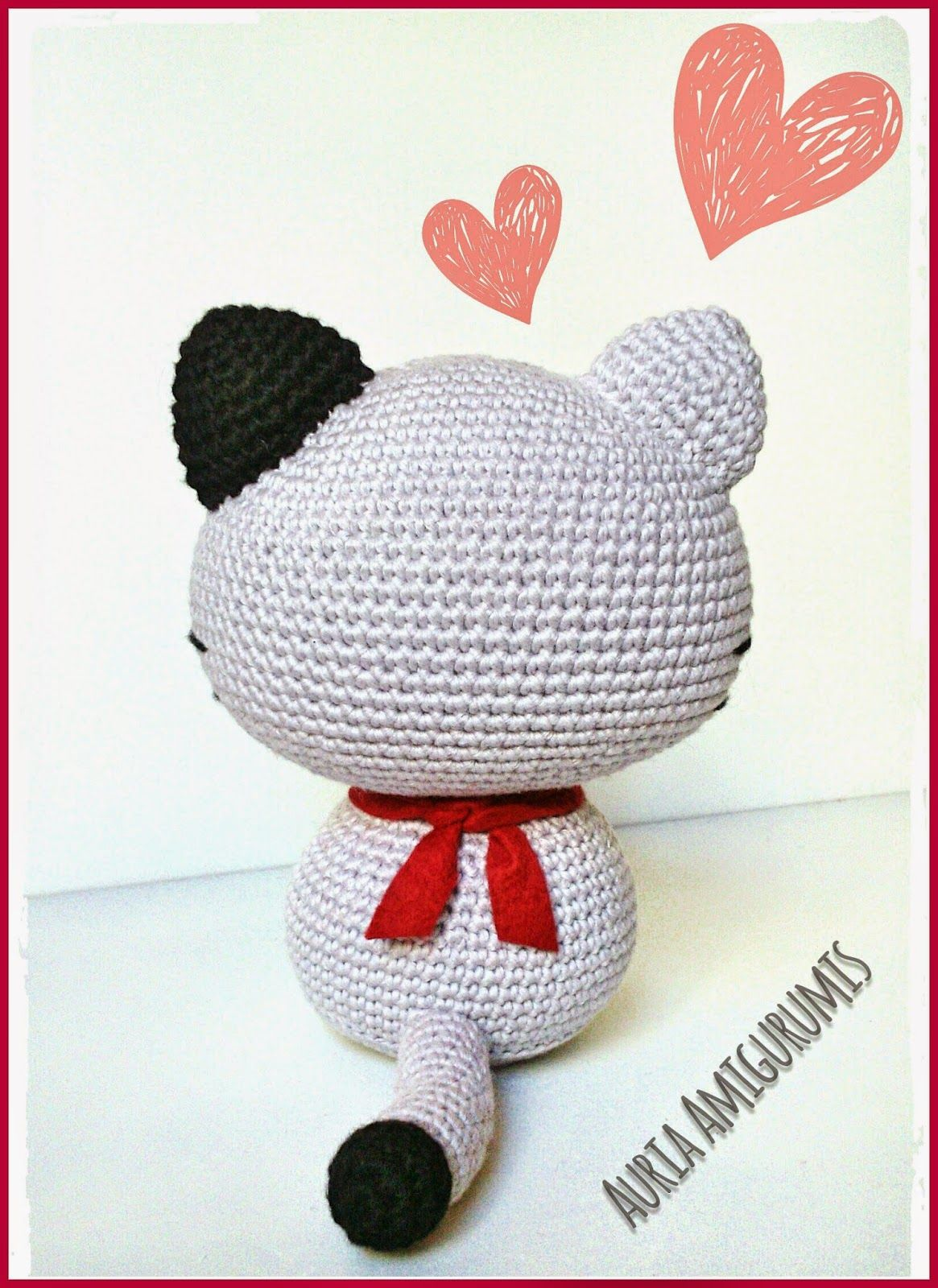 Gato amigurumi | Crochet | Pinterest | Gatos, Amigurumi and Crochet