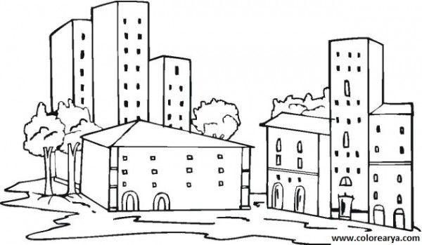 Dibujos De Ciudades Para Imprimir Buscar Con Google Dibujos De Ciudades Escuela Animada Dibujos