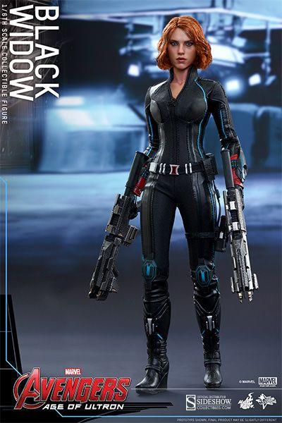 "Marvel Avengers Black Widow 6/"" Action Figure"
