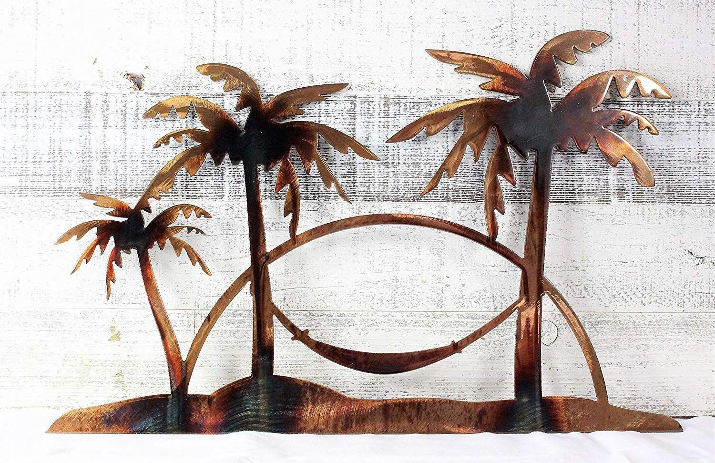 Palm Tree Wall Art Palm Tree Wall Decor Beachfront Decor Metal Art Decor Palm Tree Wall Art Palm Tree Art