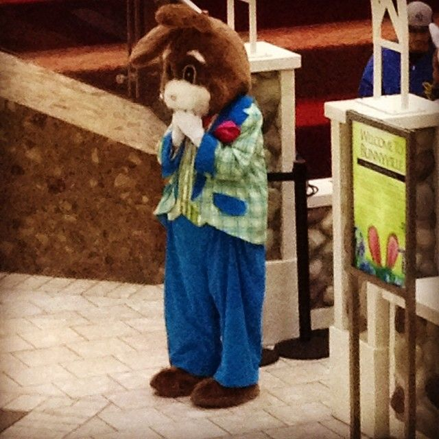 Easter Bunny Is Waiting To See You At The Stamford Town Center