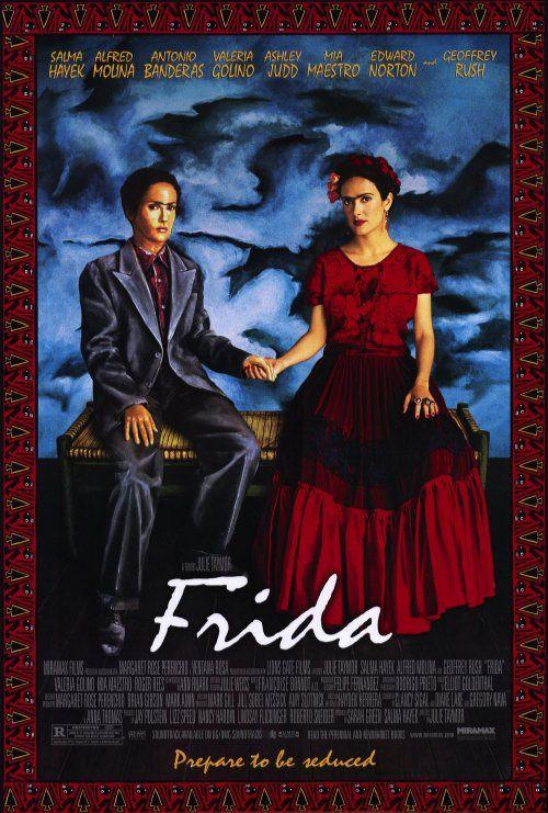 Pin De Julieta Rodriguez En Movies Frida Pelicula Frida Film Frida 2002