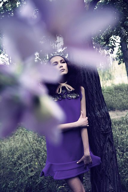 {Violet}, by Unknown Artist #photography #purple #couturephotography