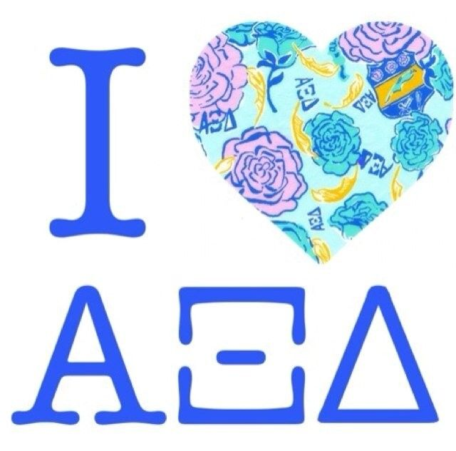 12 Signs You Are An Alpha Xi Delta Pinterest