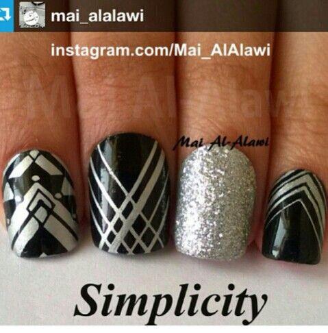 Instagram--Simplicity  #nailart #nailsofinstagram     http://instagram.com/p/tBdpFkr6o8/