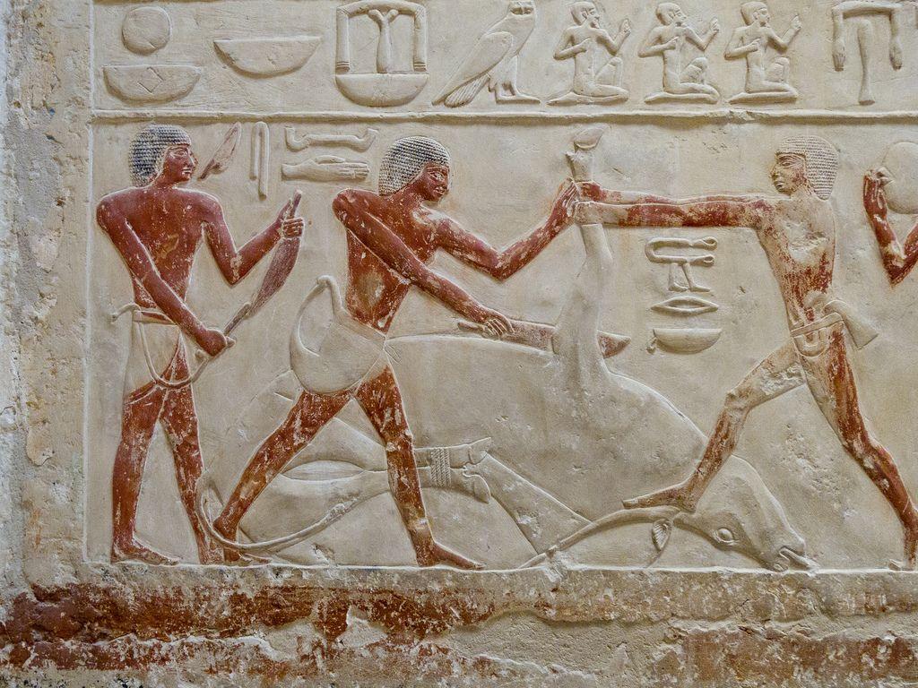 Mastaba Of Princess Idut Egipto Escultura Y Pinturas # Saqqara Muebles Y Decoracion