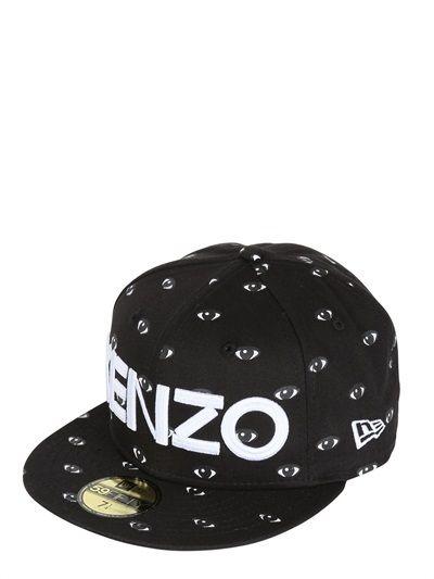 Kenzo Eye Printed Baseball Hat  a1c64dbe5517