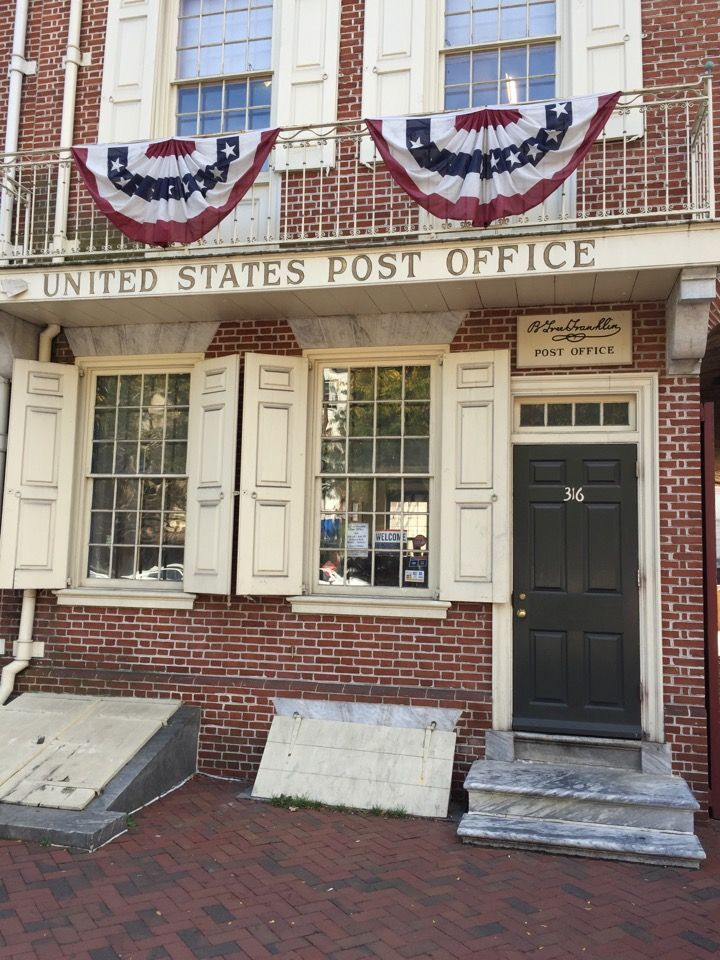 Good B Free Franklin   US Post Office In Philadelphia, PA   Ben Franklinu0027s Post  Office