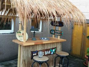 Tiki Bar Bauanleitung Zum Selber Bauen Selber Machen Gartentraum
