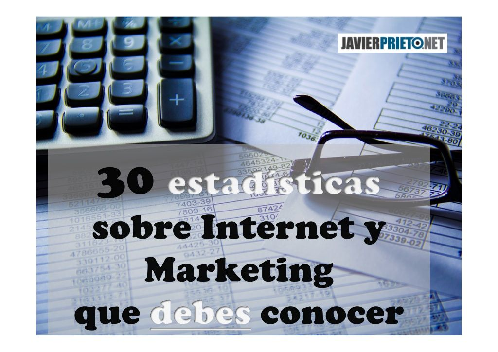 Estadísticas y datos que debes conocer sobre Marketing e Internet