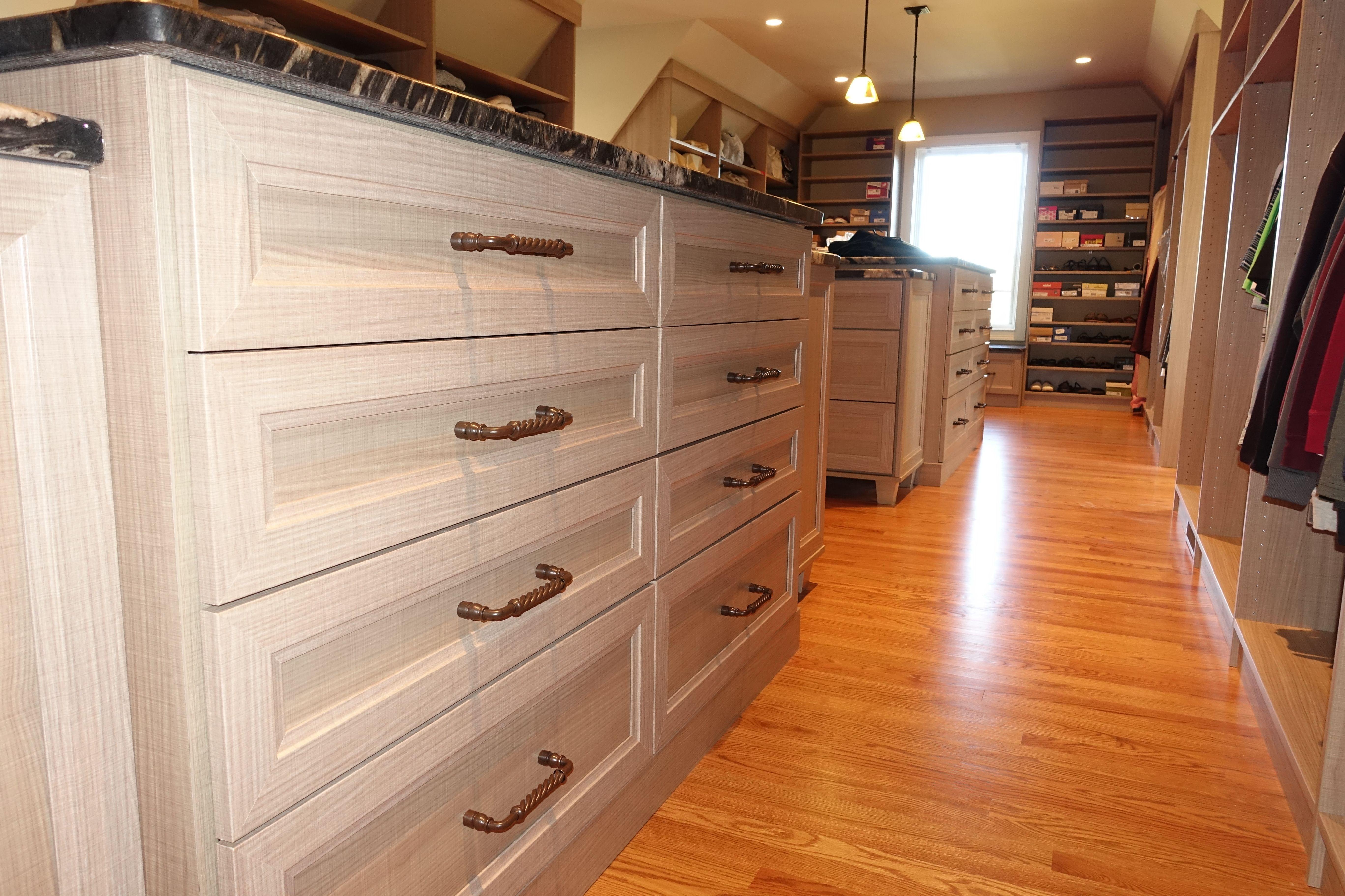 Long Narrow Closet With Islands Organization Storage Solutions Narrow Closet Long Narrow Closet