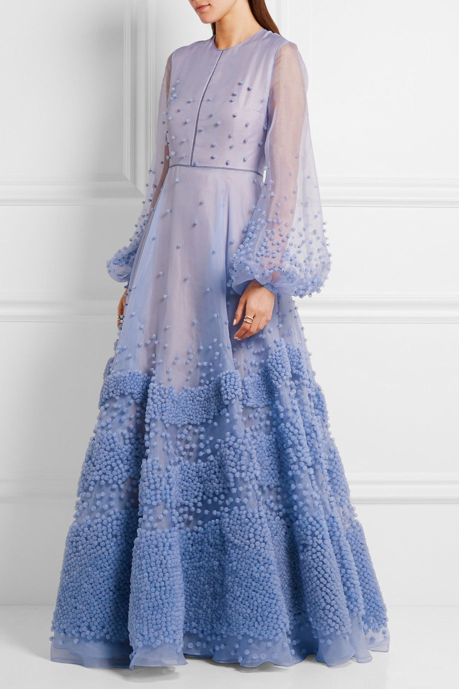 Roksanda | Viola embellished silk-organza gown | NET-A-PORTER.COM