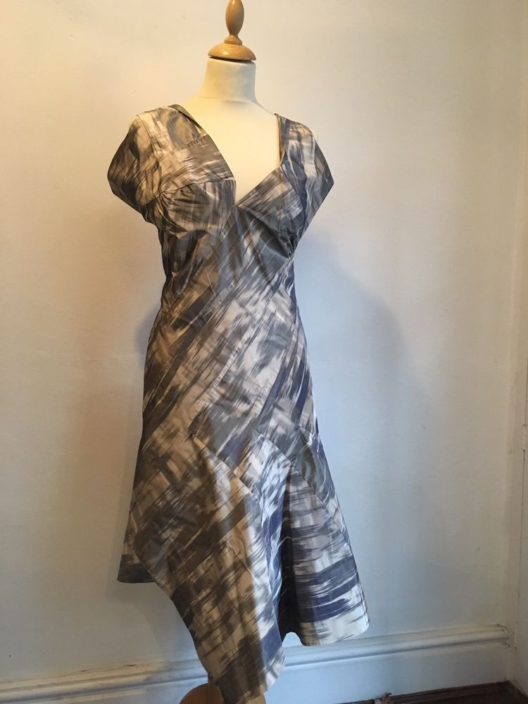 40aee5f86ce5 Vivienne Westwood Red Label Printed Silk Mix Dress Size 42 (UK 10) #fashion  #clothing #shoes #accessories #womensclothing #dresses (ebay link)