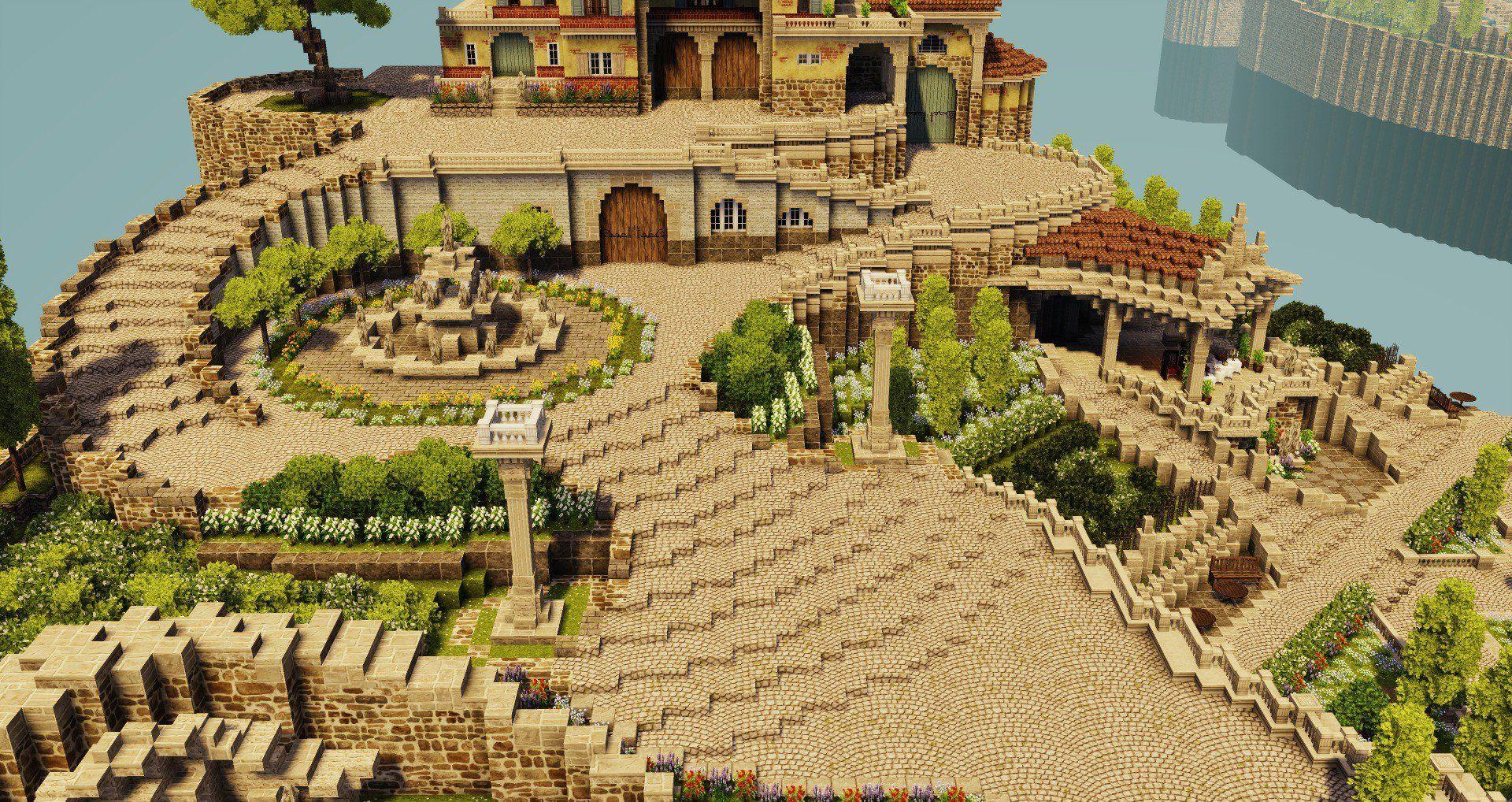 Dtzqnexvoae7cbe Jpg Stora 1 920 1 018 Pixlar In 2020 Minecraft City Minecraft Houses Minecraft Construction