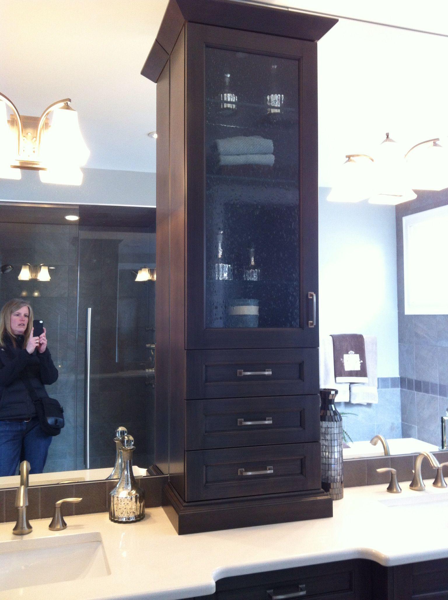Ensuite vanity tower   bathrooms   Pinterest   Vanities