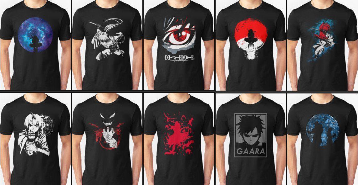 Anime T-Shirts For Sale http://bit.ly/29OTC8u  #animemerch #animeshirts #naruto #onepiece #fairytail #tokyoghoul