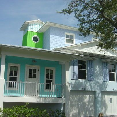Bungalow Tin Roof House Colors Key West | Eclectic Home Hardi Plank Siding  Design Ideas,