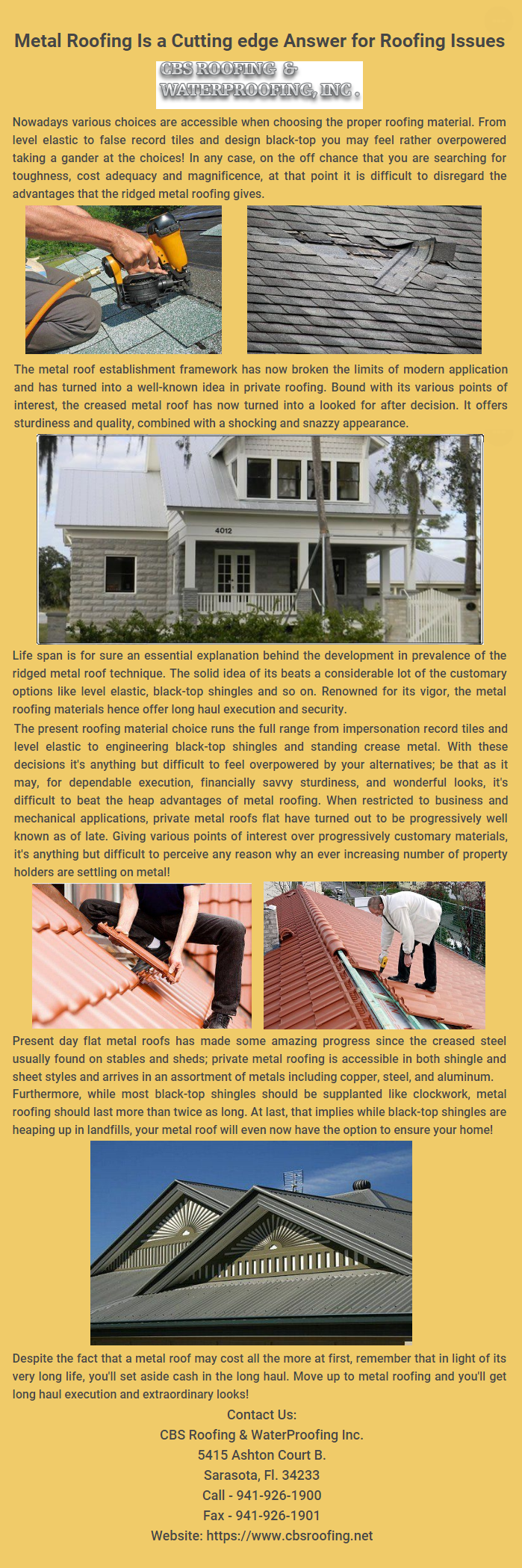 Pin On Cbs Roofing Waterproofing Inc