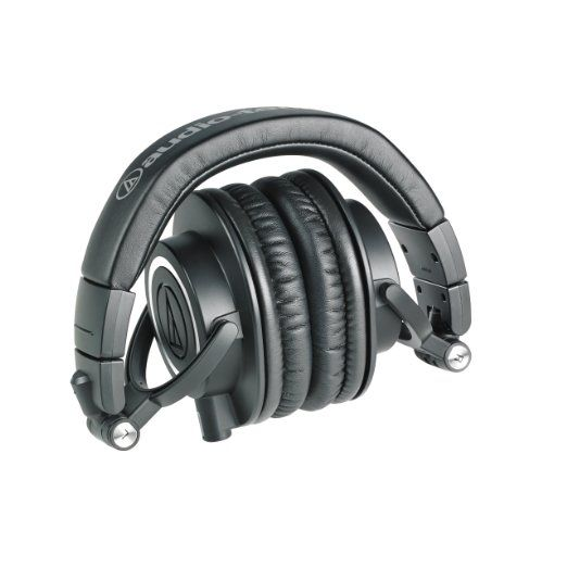 Amazon.com: Audio-Technica ATH-M50x Professional Studio Monitor Headphones: Musical Instruments