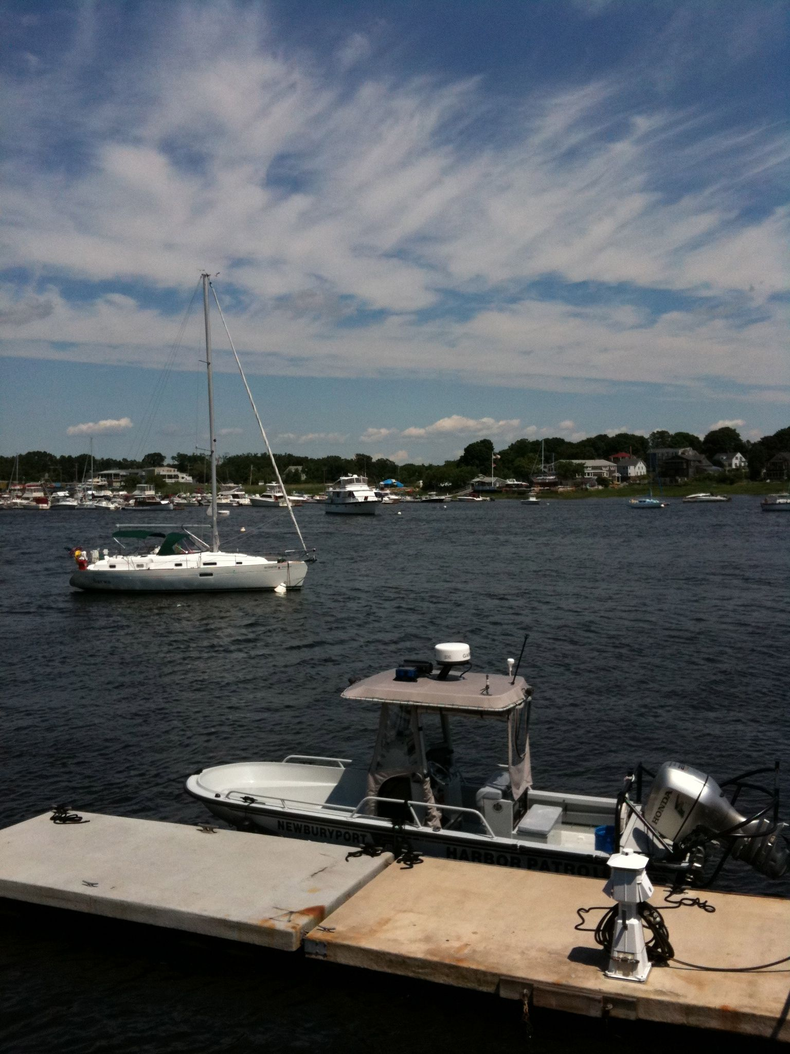Brisk Day Newburyport And The Merrimack River Pinterest