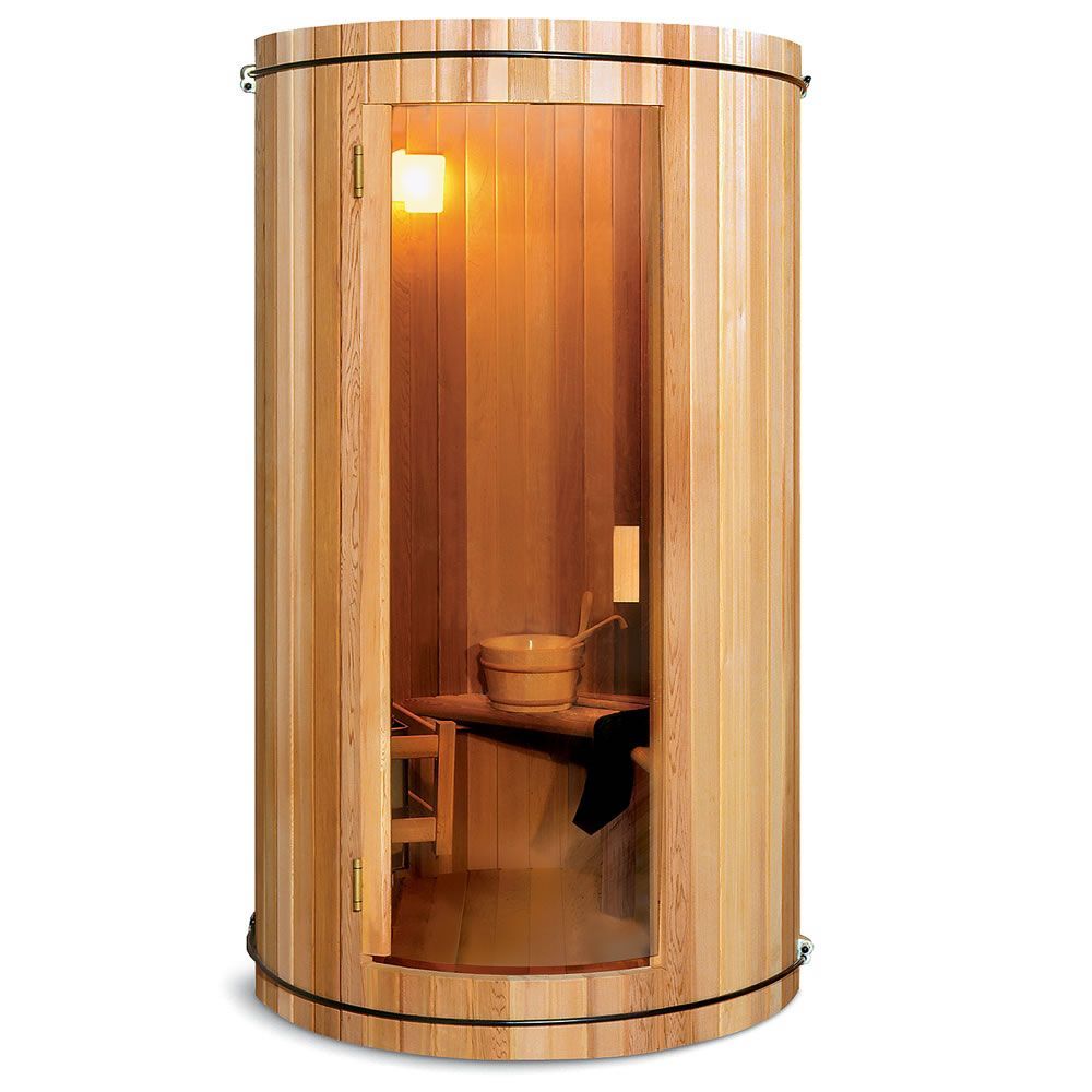 the two person home sauna hammacher schlemmer interesting pinterest saunas chloe och badrum. Black Bedroom Furniture Sets. Home Design Ideas