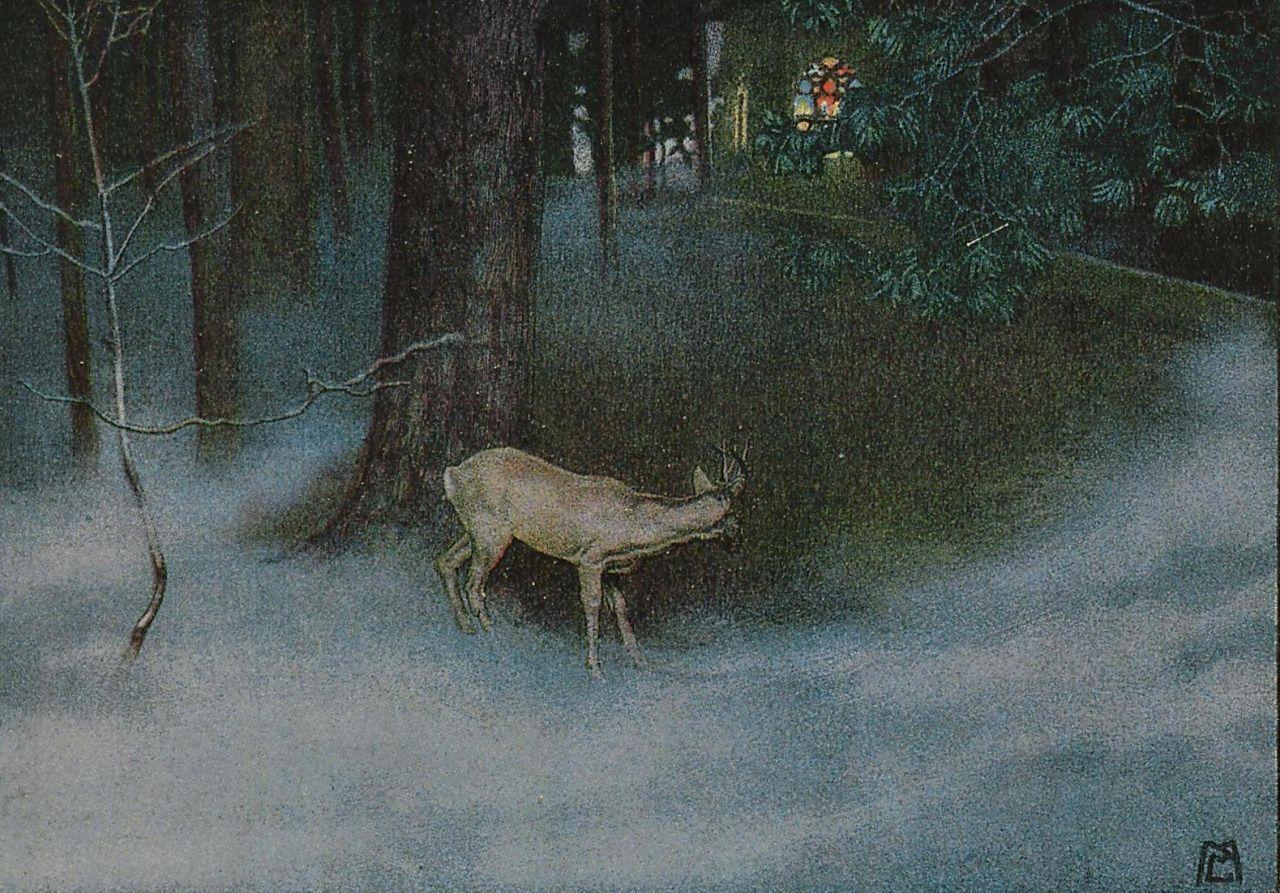 Mila von Luttich, Morgen, 1910
