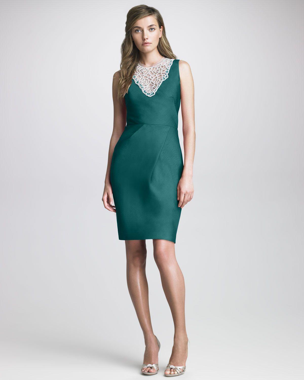 http://ncrni.com/lela-rose-beadneck-silk-dress-p-1289.html ...