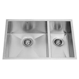 Vigo 16Gauge Doublebasin Undermount Stainless Steel Kitchen Sink Custom Stainless Kitchen Sinks Design Decoration