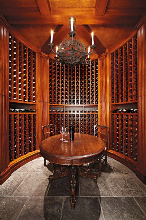dyingofcute. Home Wine CellarsWine ... & Love the chandelier. | Wine Storage 101 | Pinterest | Wine cellars ...