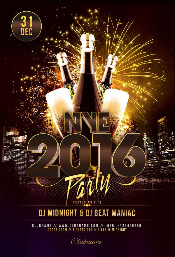Nye  Party Flyer  Party Flyer