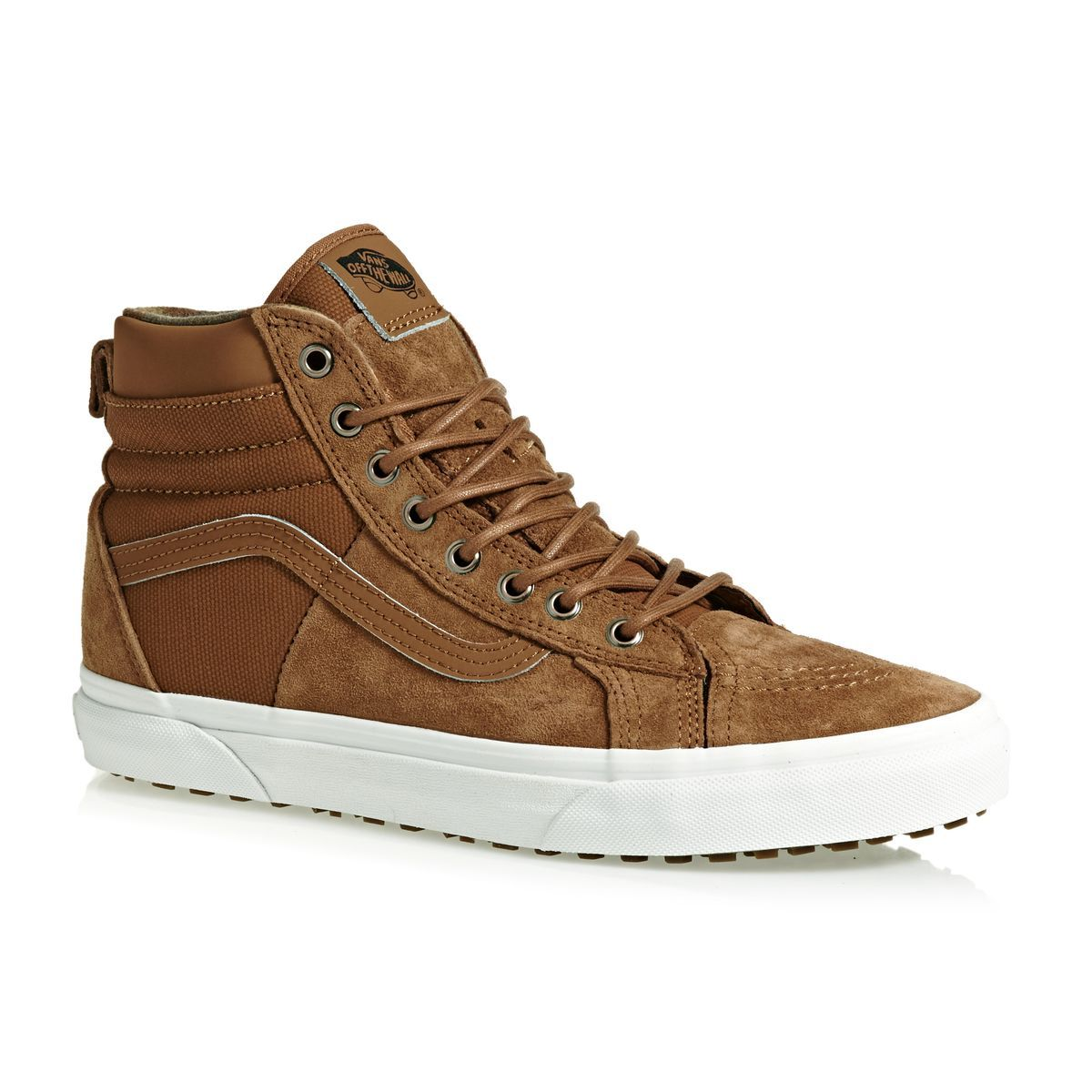 Buy Vans Sk8-Hi 46 MTE DX Shoes Glazed Ginger/Flannel with great prices
